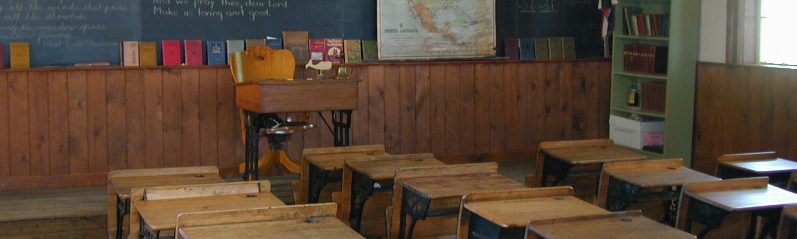 Old-style classroom